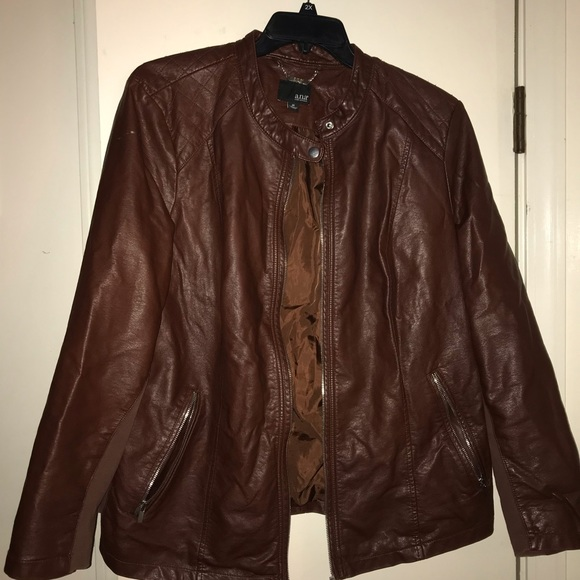 a.n.a Jackets & Blazers - Leather style jacket